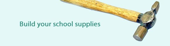 Build your school supplies
